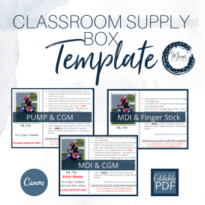 Supply Box Template