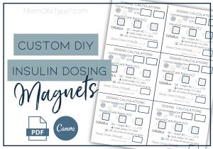 Insulin Dosing Magnets