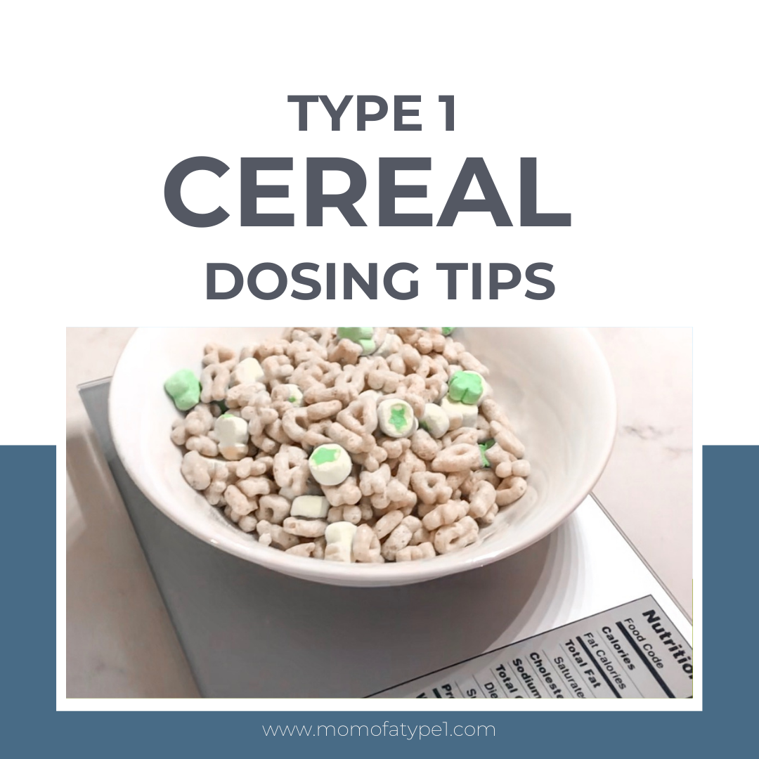 Type 1 Cereal Dosing Tips