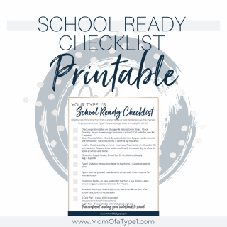 School Ready Checklist Printable