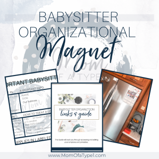 Babysitter Kit Magnet