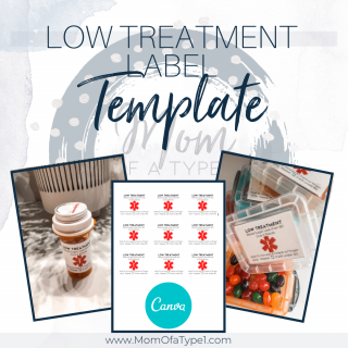 Low Treatment Label Template